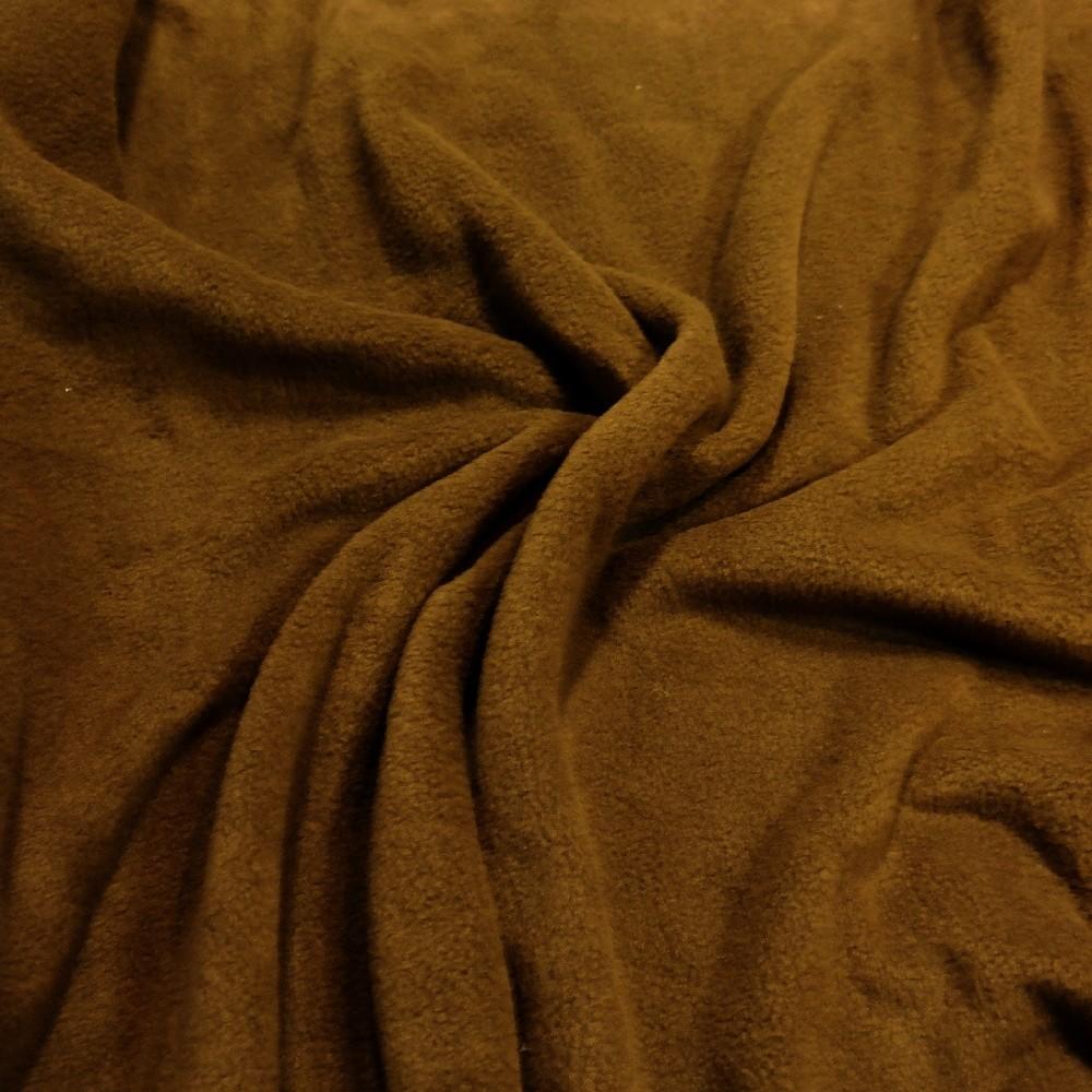 fleece hnědý