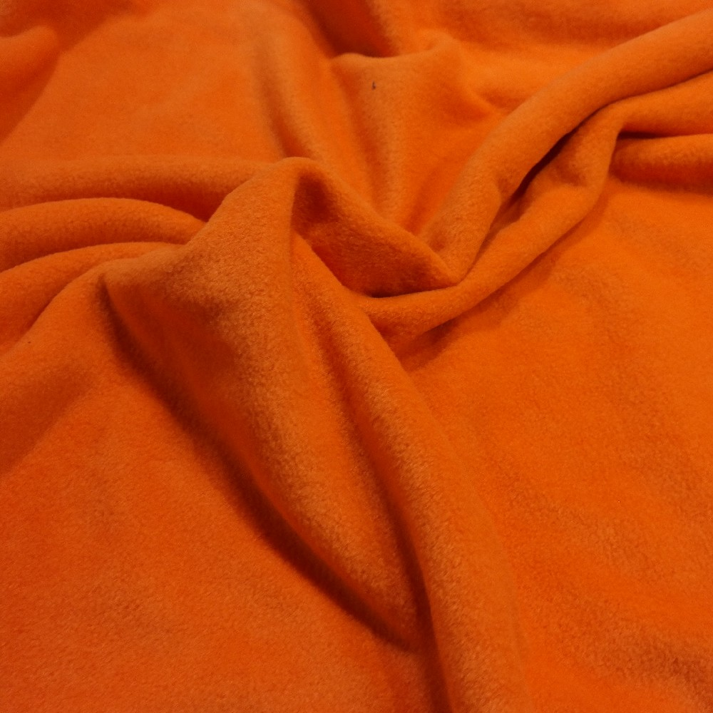 fleece oranžová