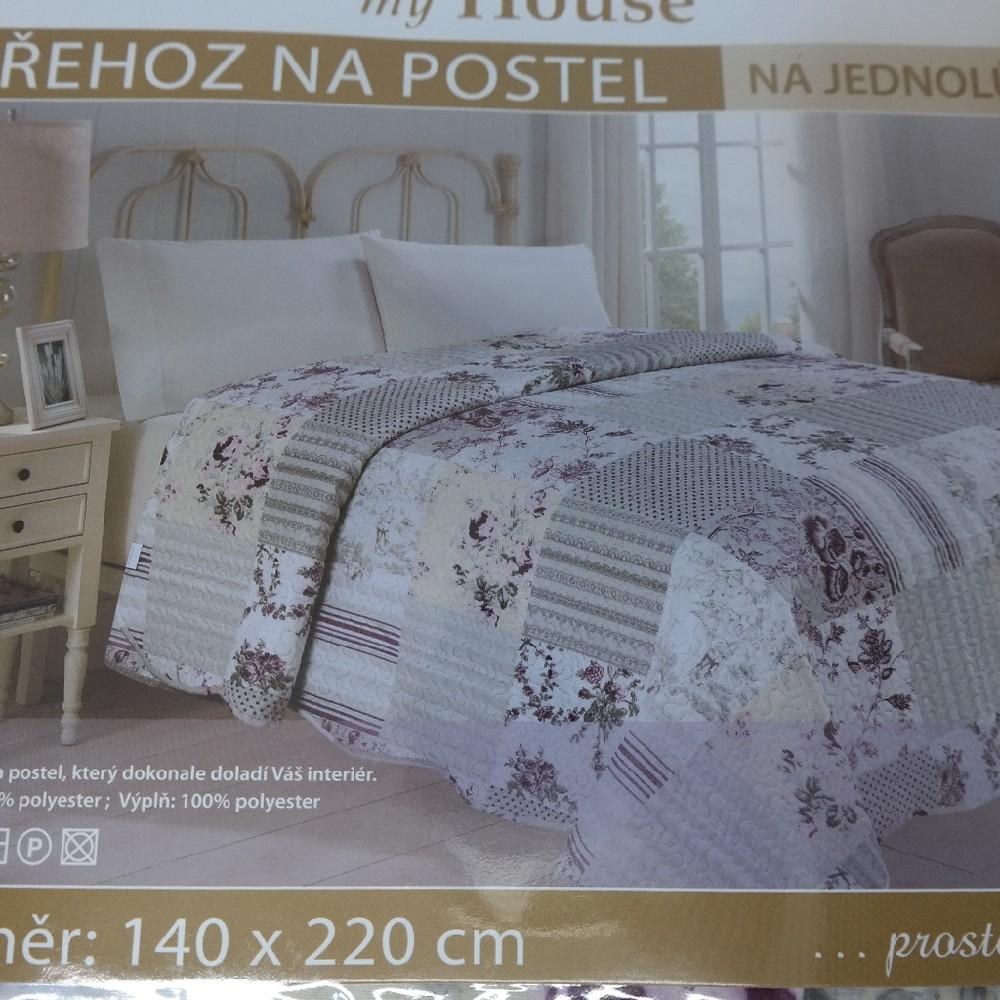 přehoz přes postel120x220cm