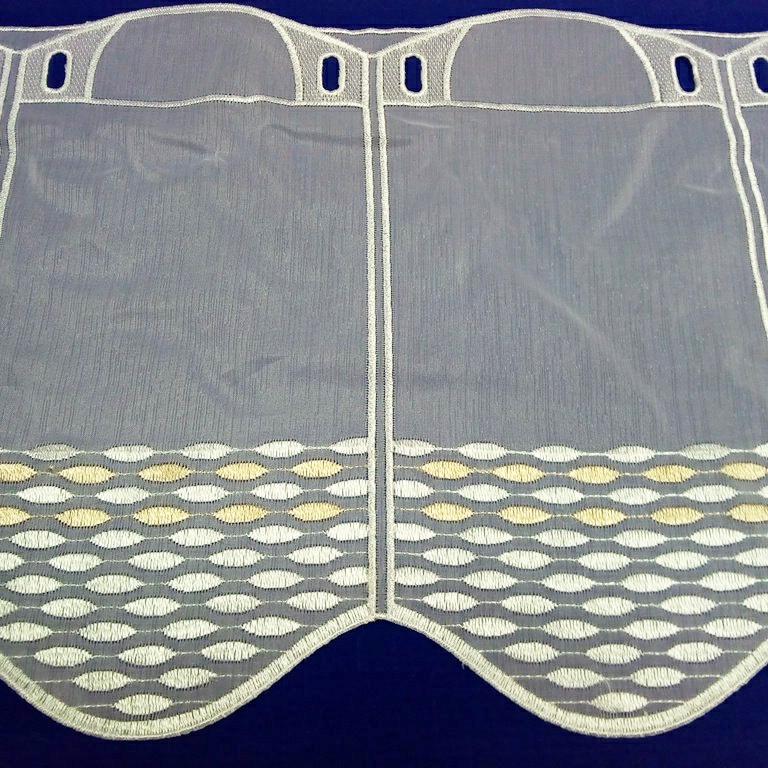 záclona Ve vitrážka 30cm
