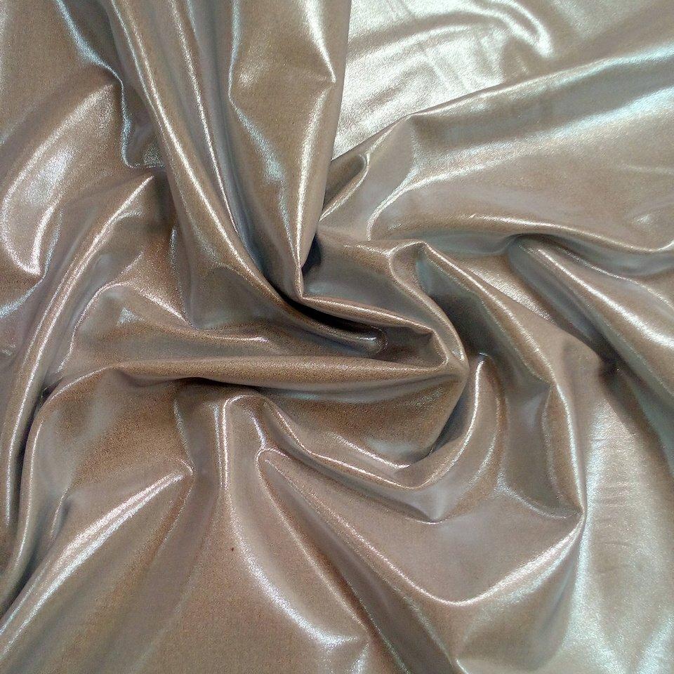 bavlna stříbrná metalická elast.