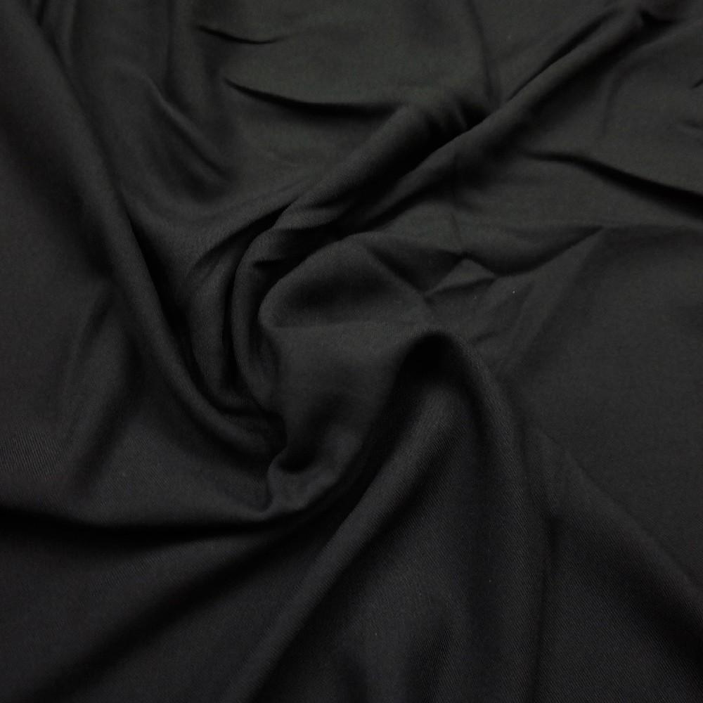 šifon černý