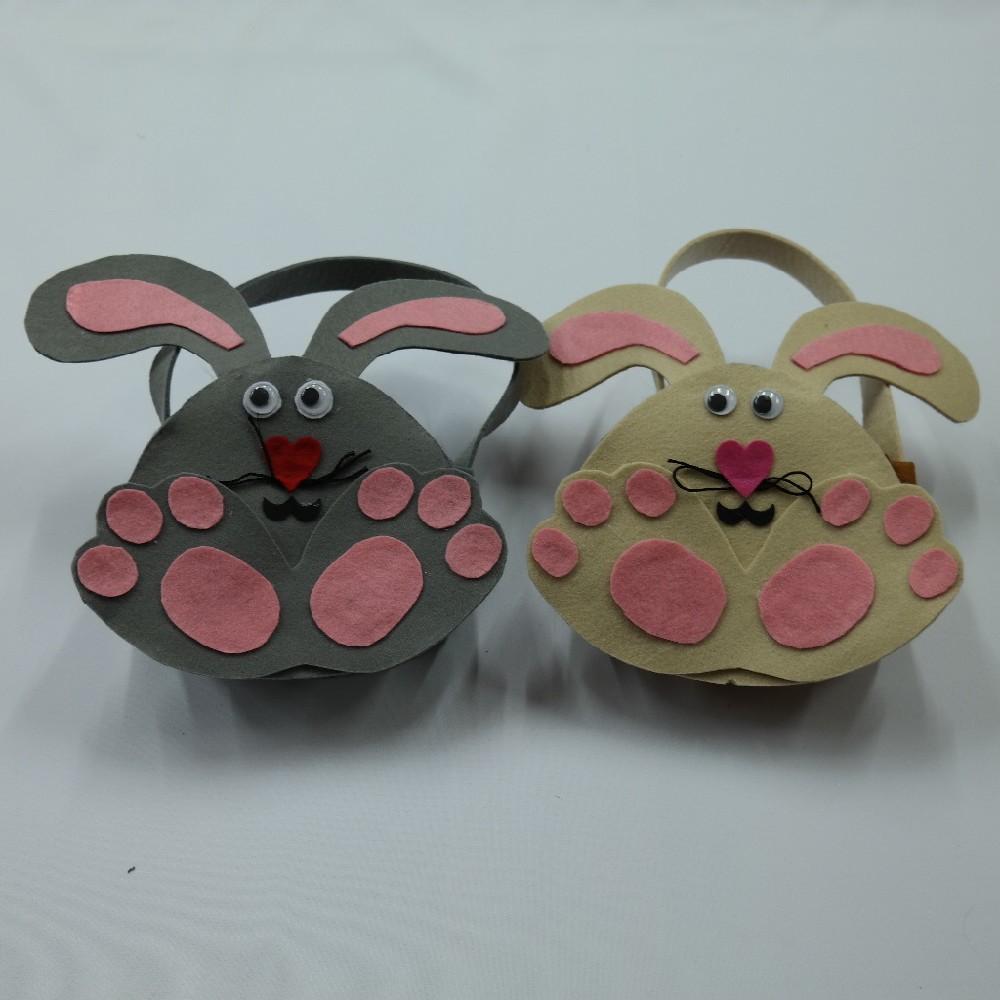 taštička velikonoční,filc-zajíc