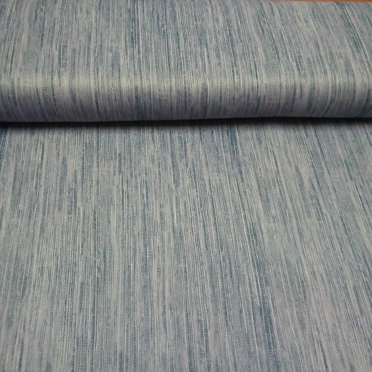dekoračka blac out modro šedá natrur š.150