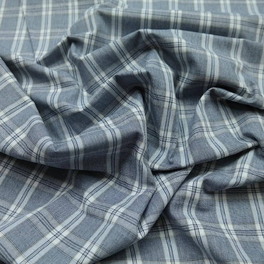bavlna s elast. šed./mod./kostka