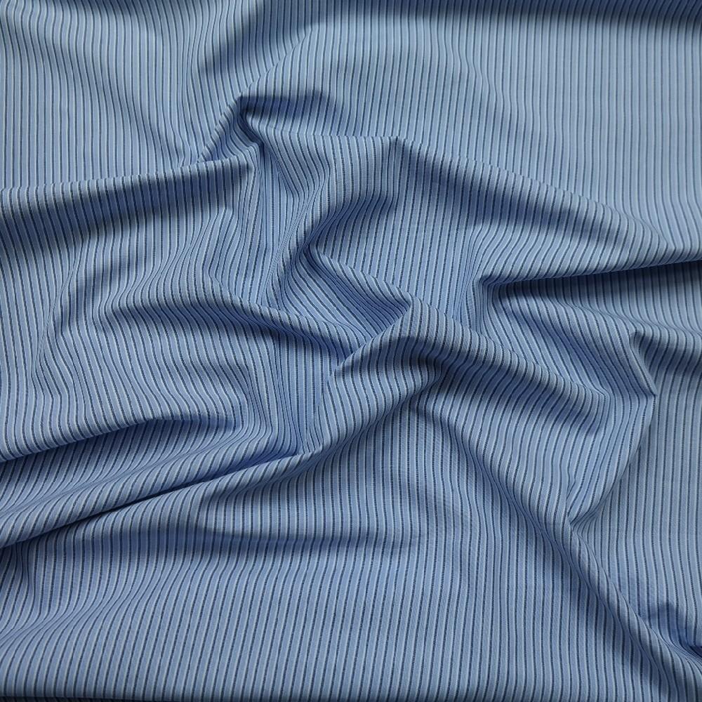 košilovina modrý proužek
