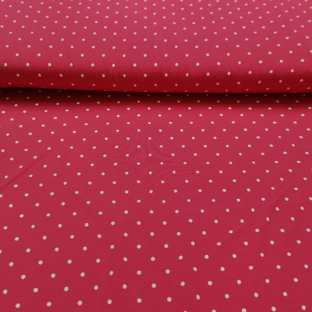 úplet pink puntík