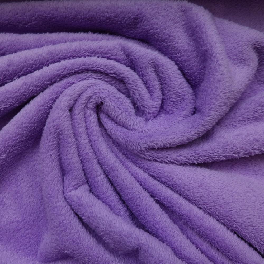 plyš fialový
