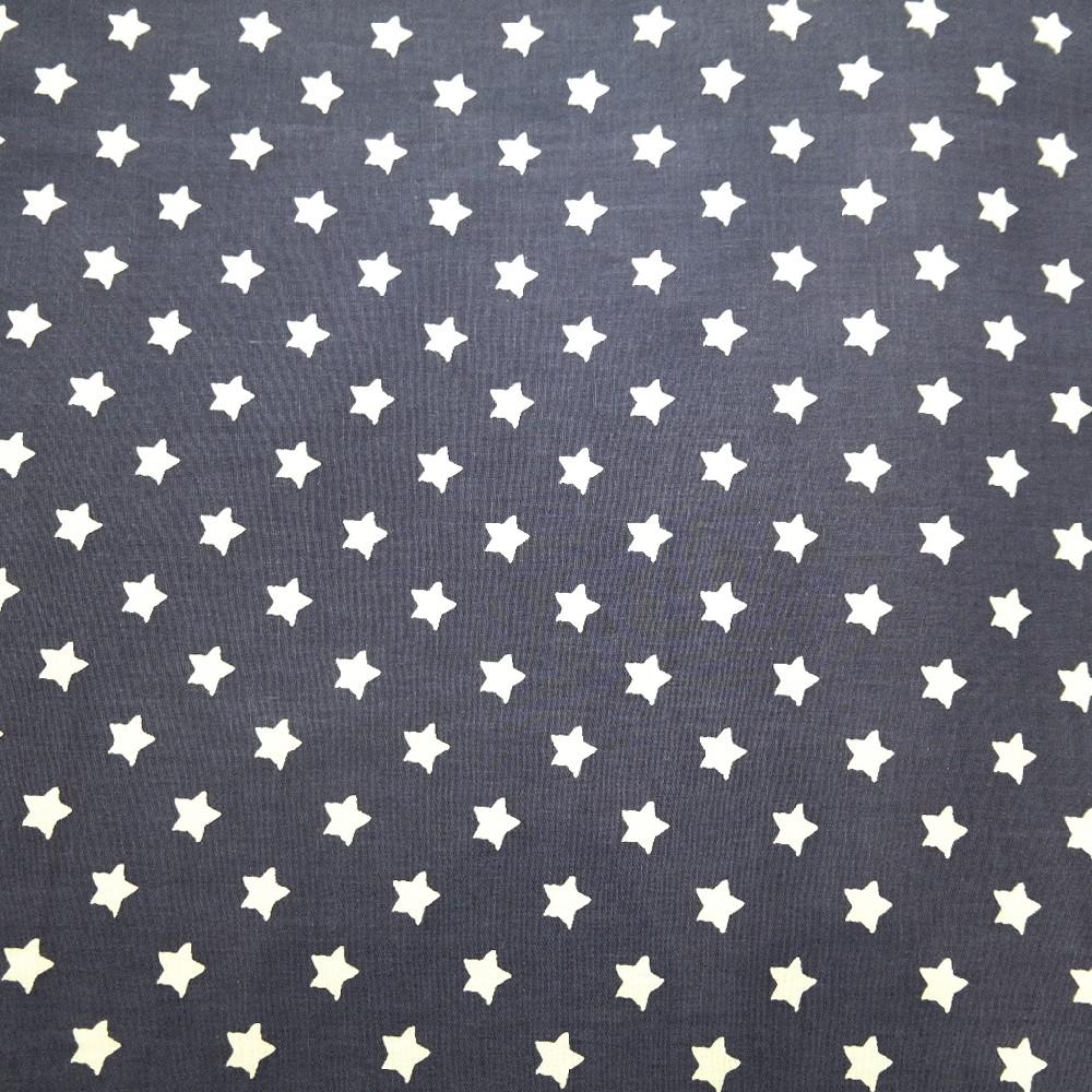 bavlna modrá,bílé hvězdy