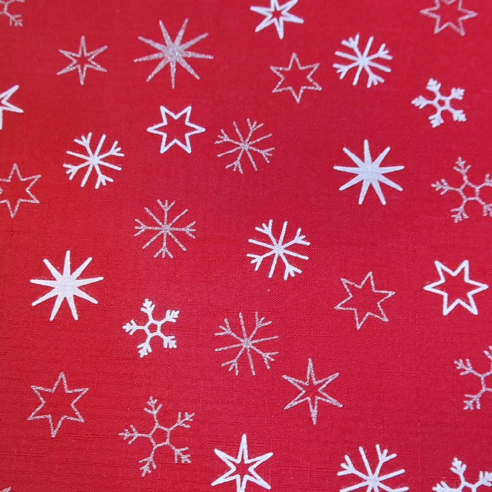 šála vánoční š.38cm červená