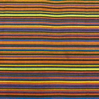 bavlna barevné pruhy