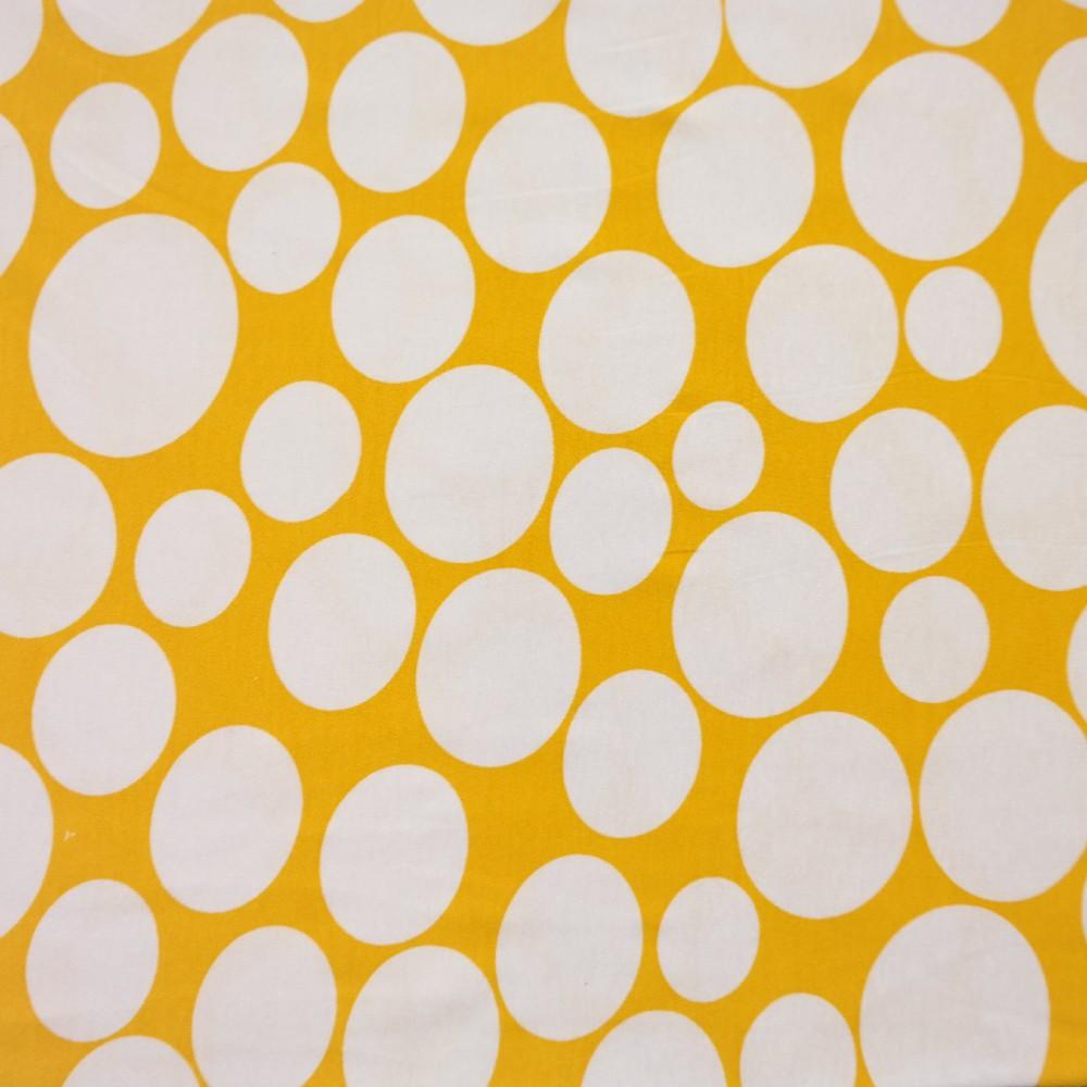 úplet žlutý, bílý puntík velký