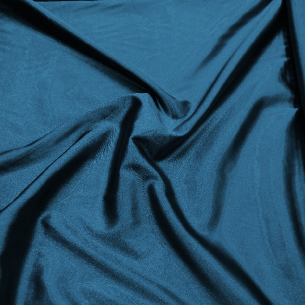 satén tmavě modrý