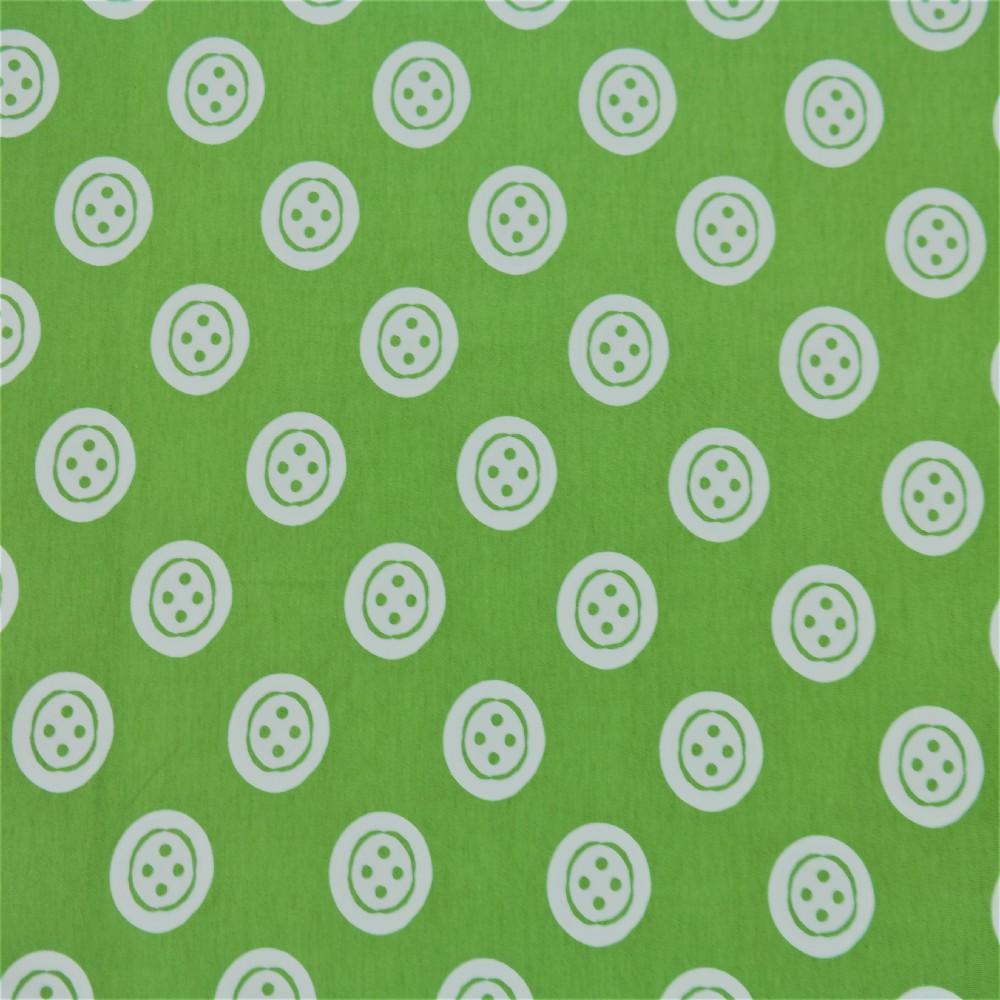 úplet zelený knoflík