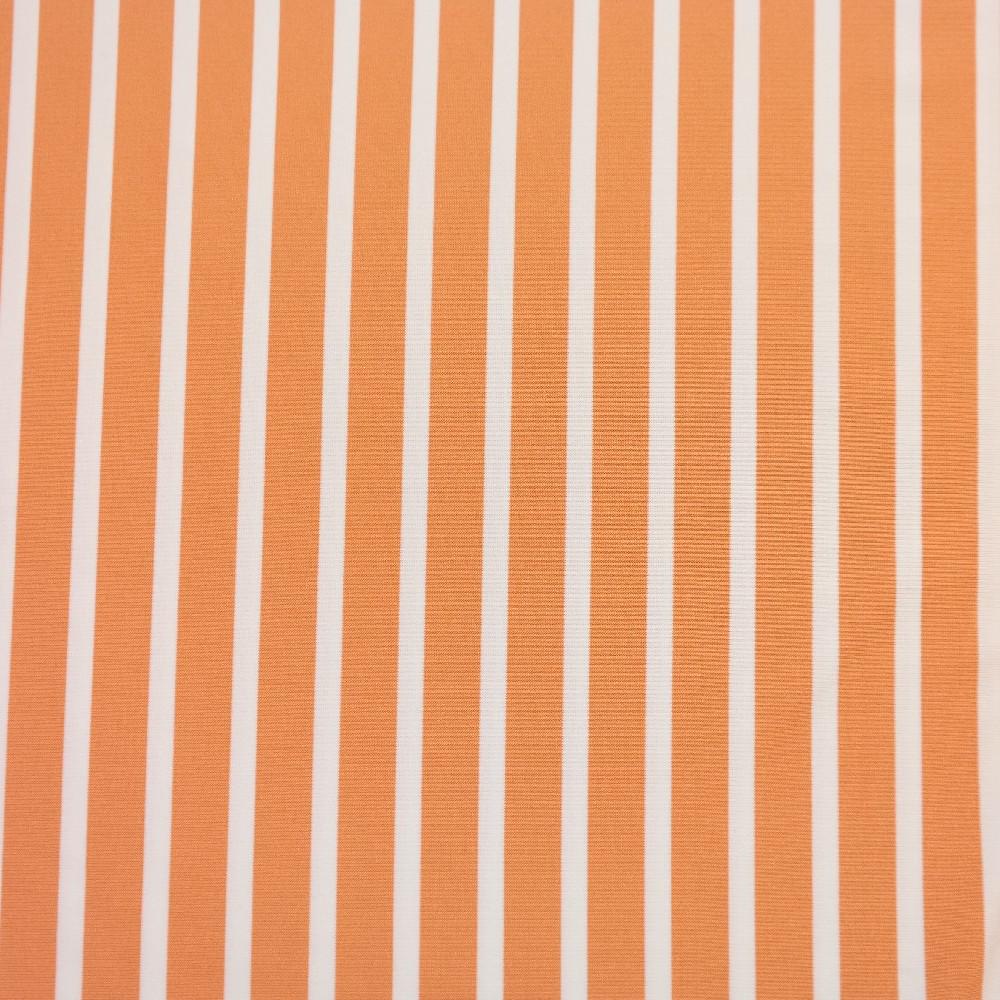 úplet bílé,oranž pruhy