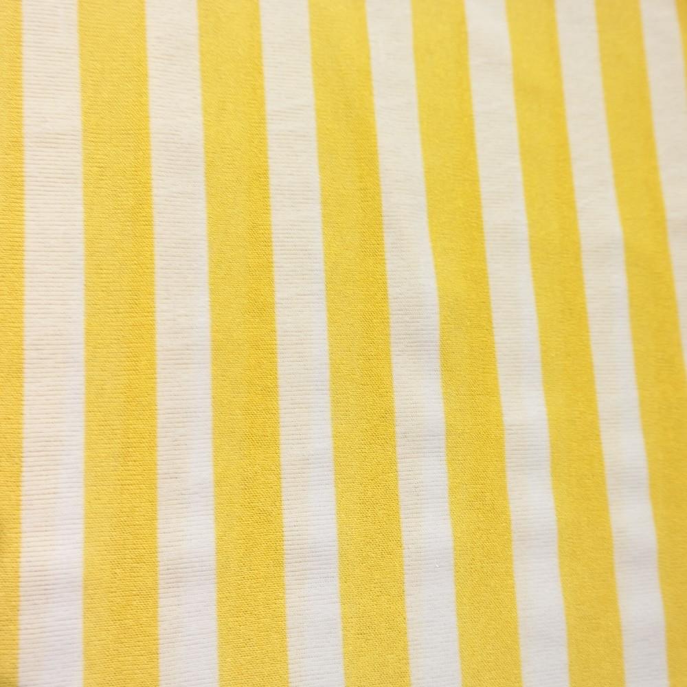 úplet žluto-bílé pruhy