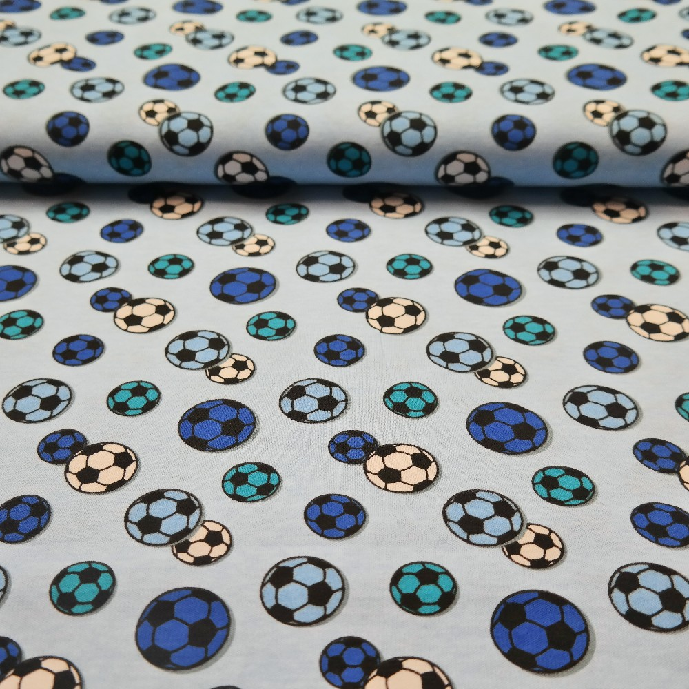 úplet modrý míče