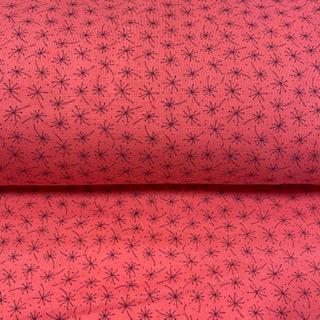 teplákoviny počesaná  růžová vzorek