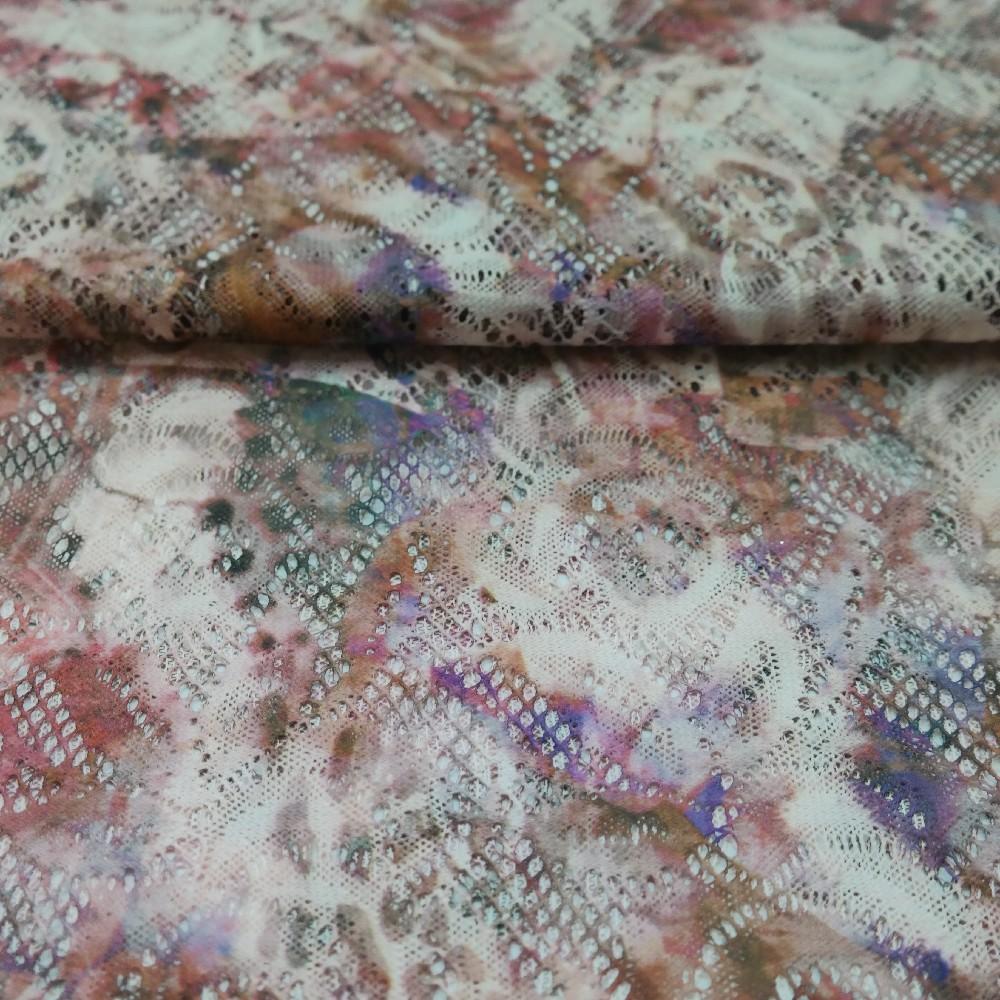 krajka starorůž..batika květ