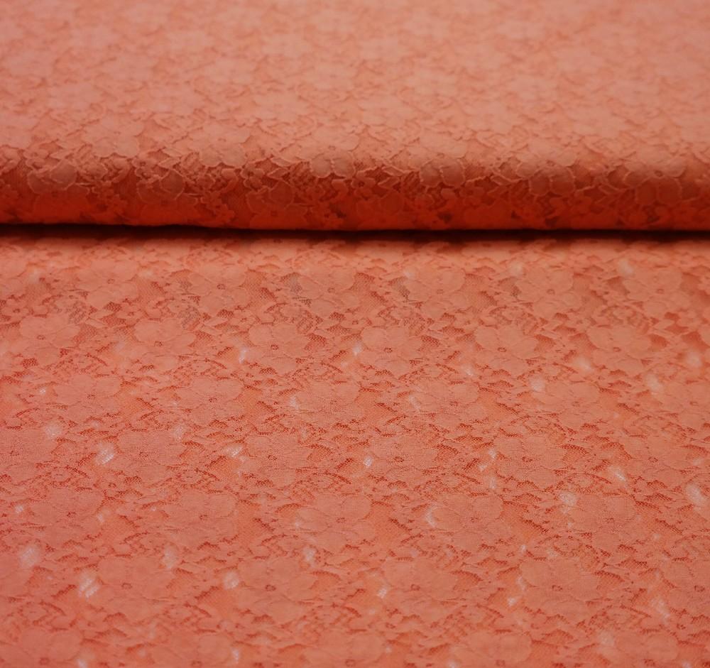 krajka oranžová elastická