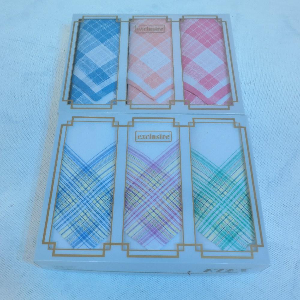 kapesník dámský krabička 3ks