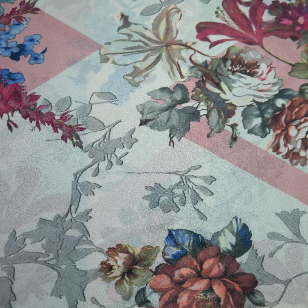 šifon květy