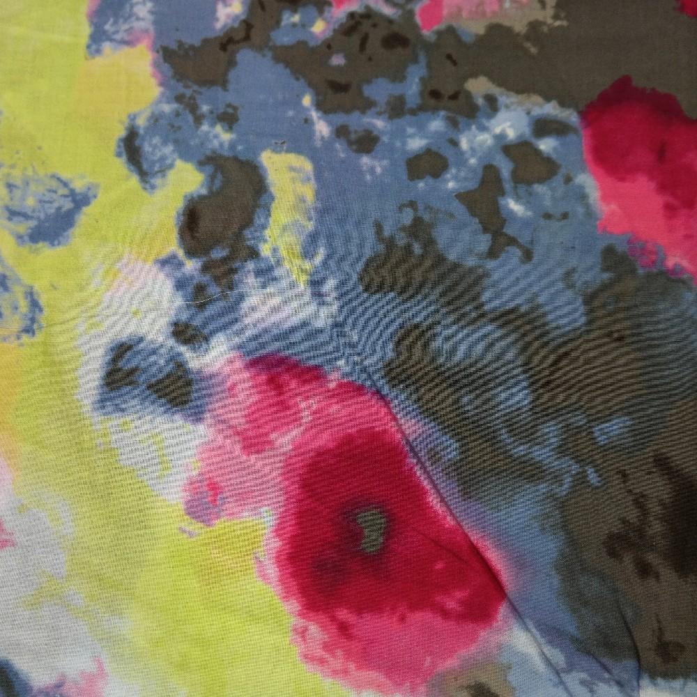 bavlna barevné fleky