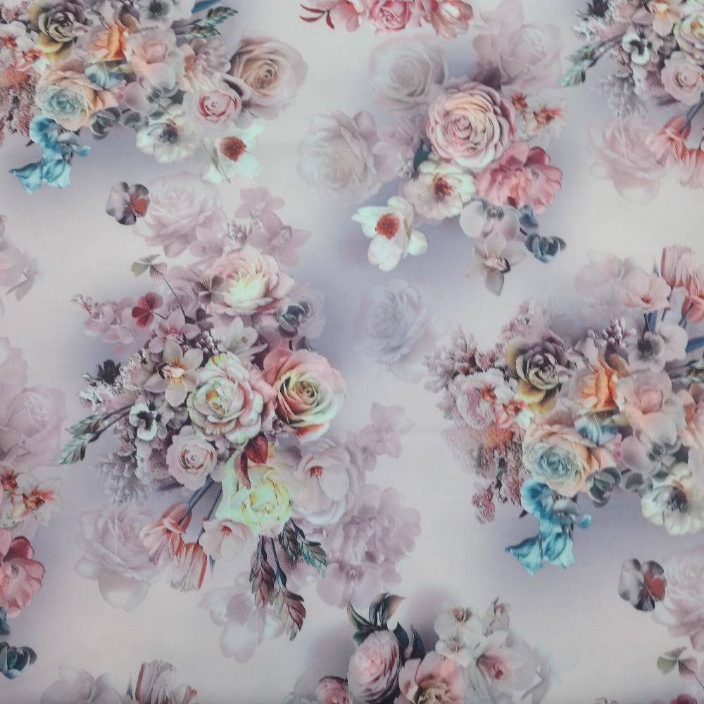 šatovka růž. barev. květy