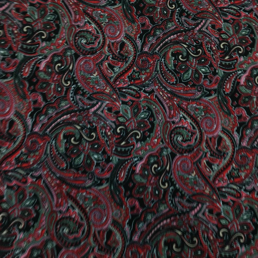polyester kašmír č/čv š.150