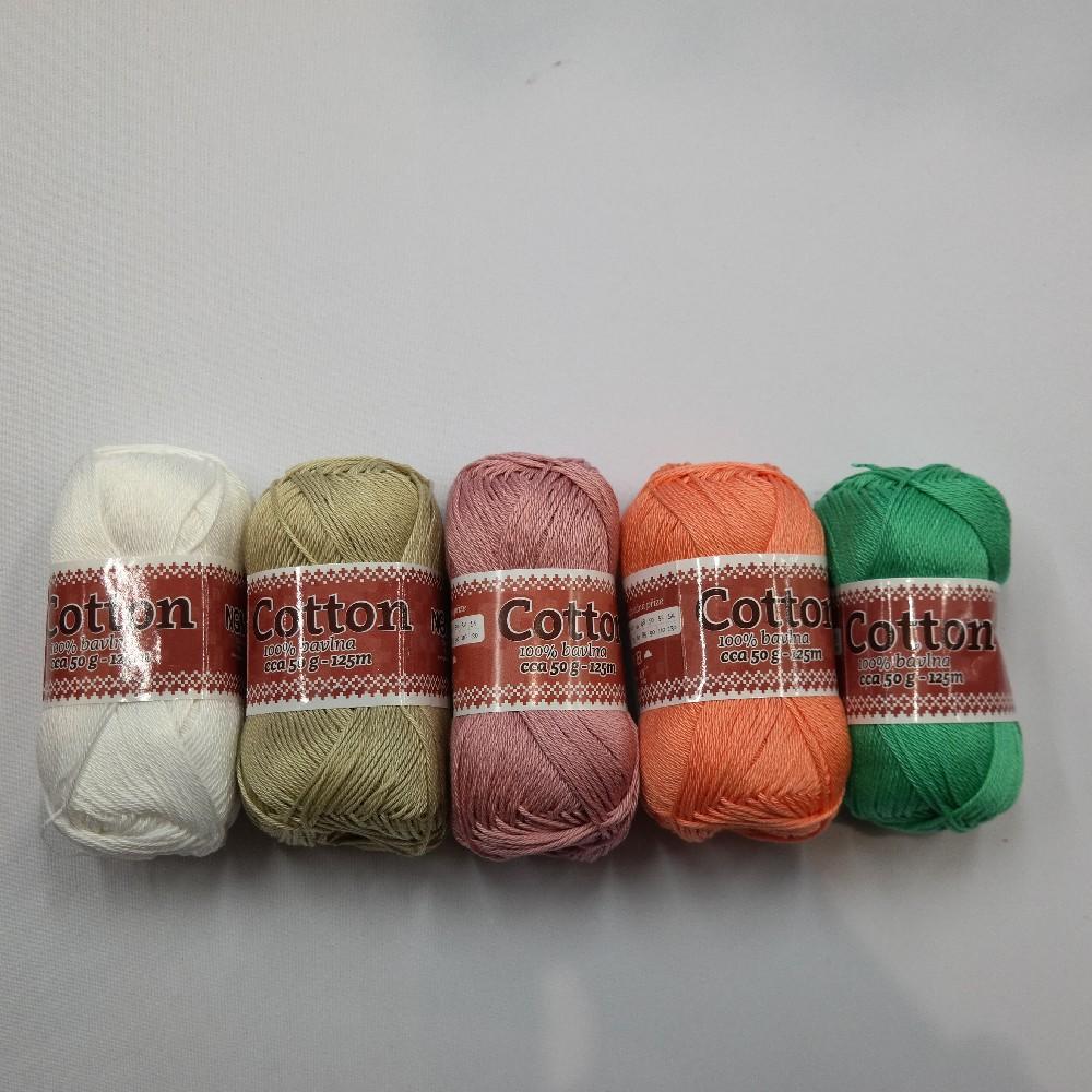 příze bavlna Cotton50g