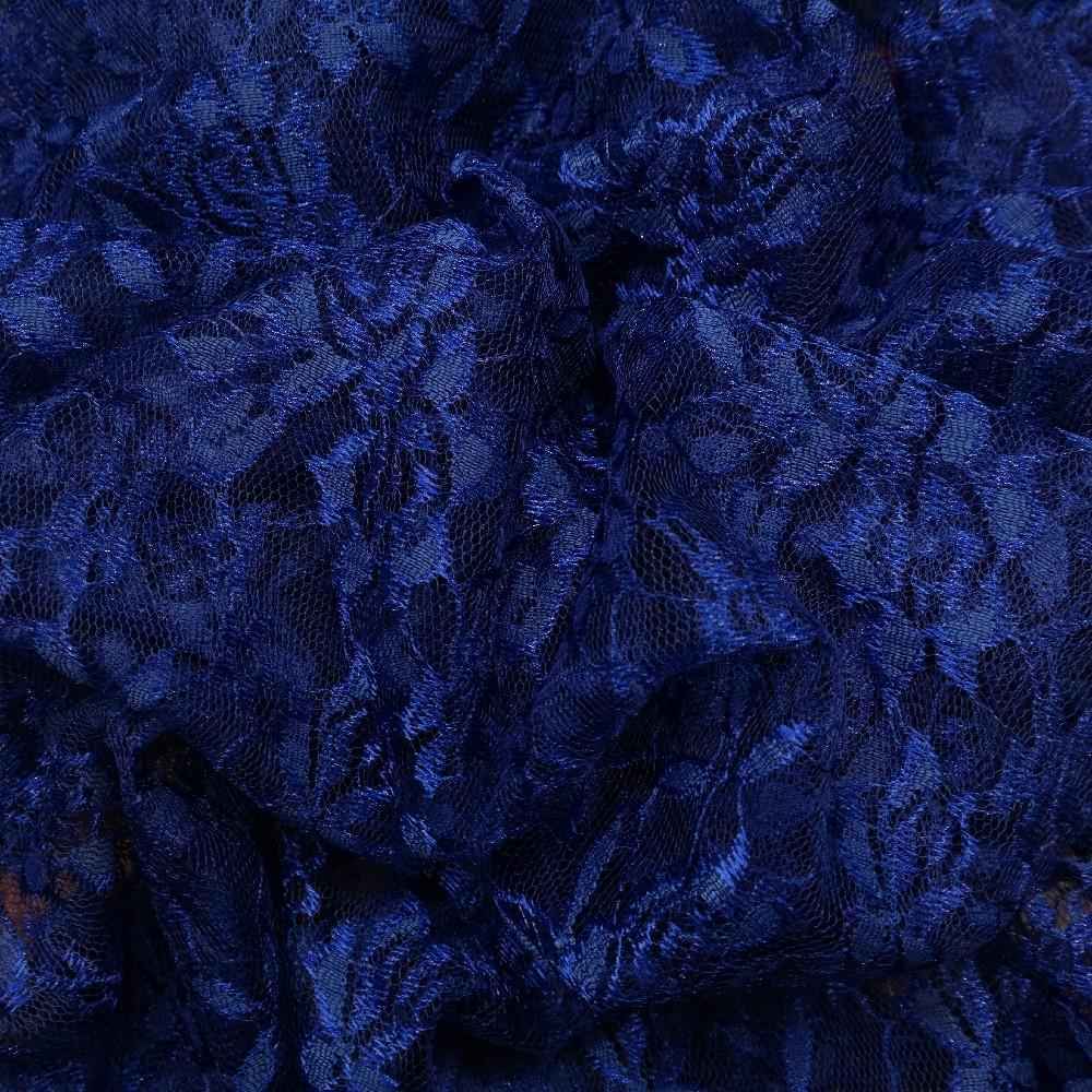 krajka modrá