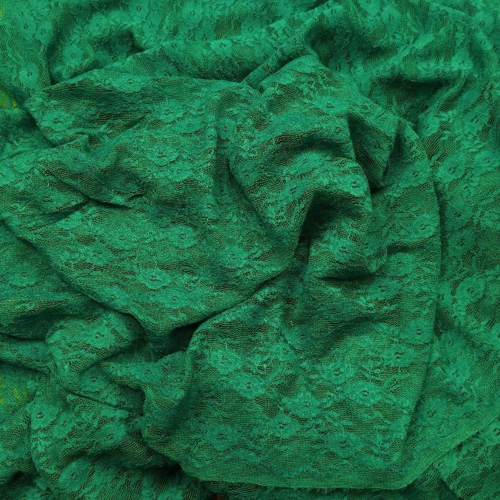 krajka elastická zelená