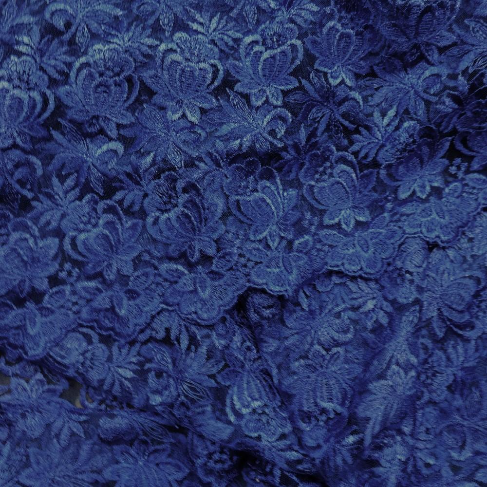 krajka modrá 100cm