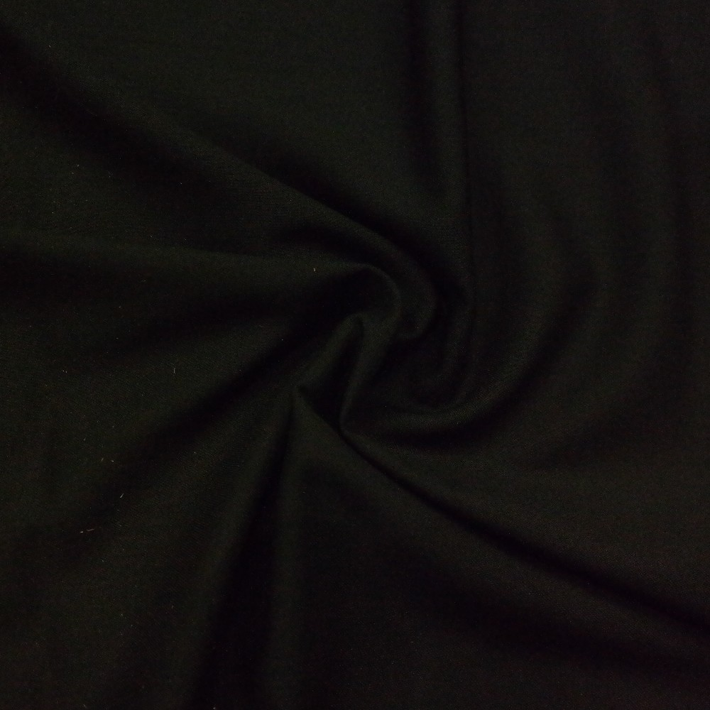 kalhotovina černá slabá