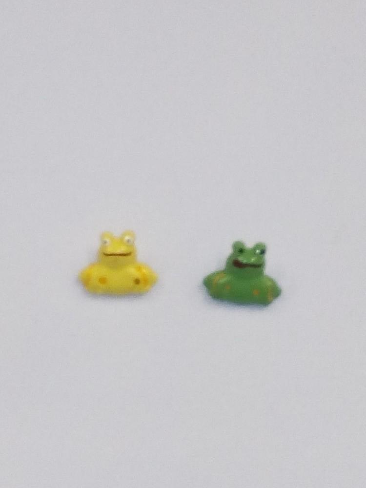 knoflík dětský,žába