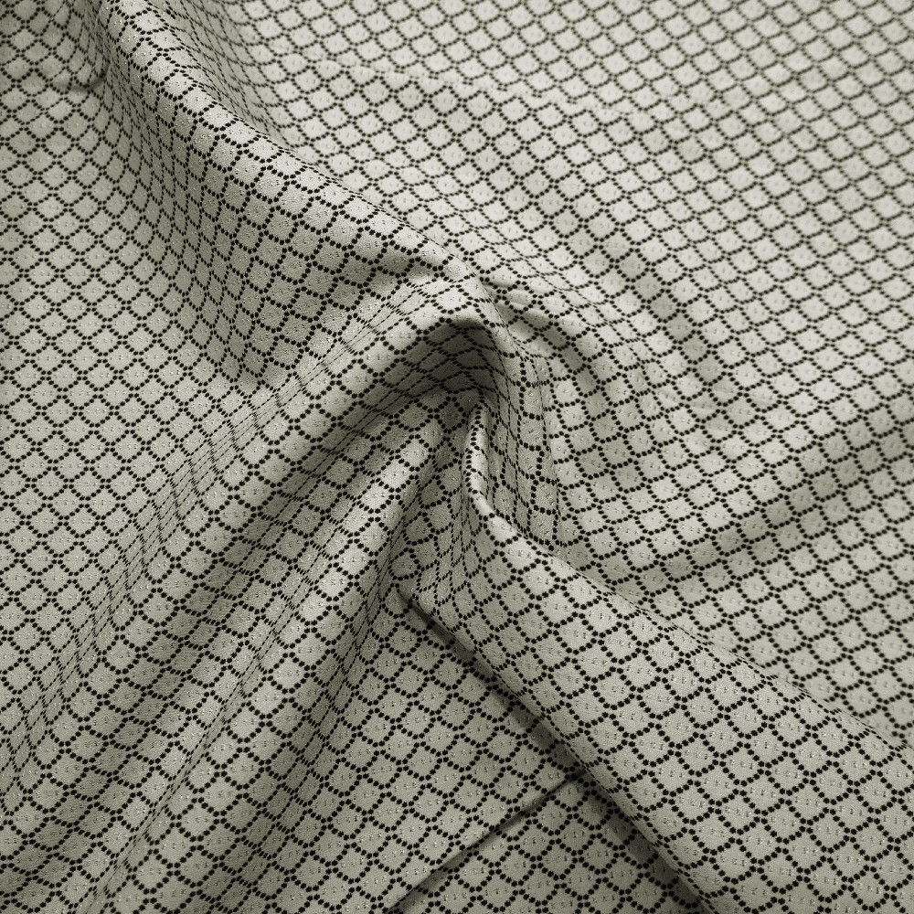 oblekovka  šedá,úplet žakár