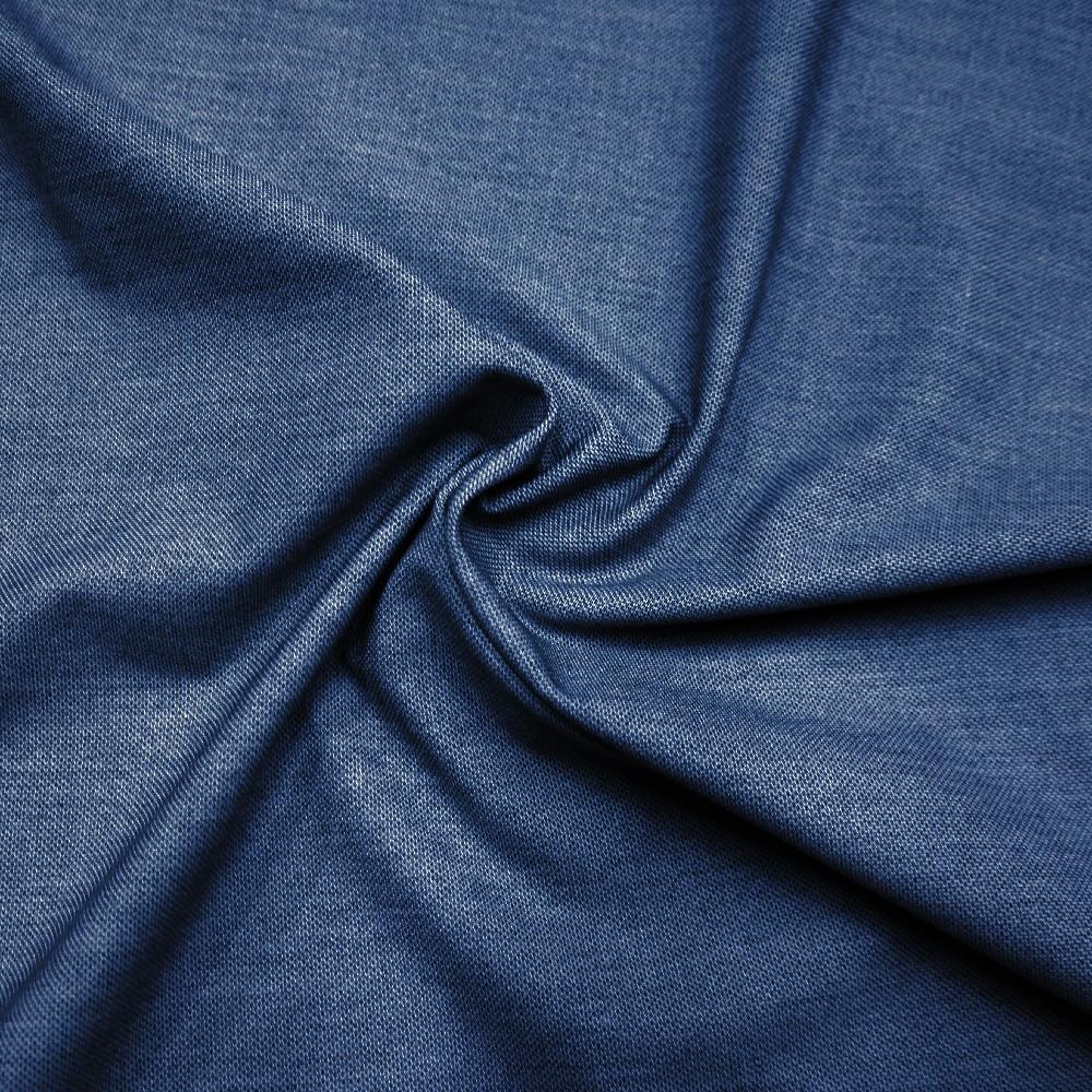 jeans elast.slabá,stř.modrá