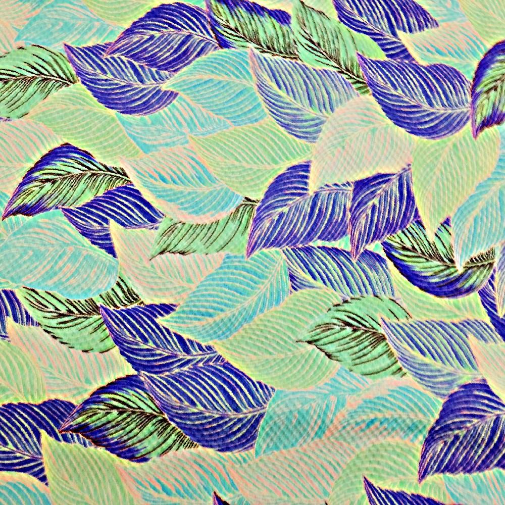 úplet,modrotyrkys.listy