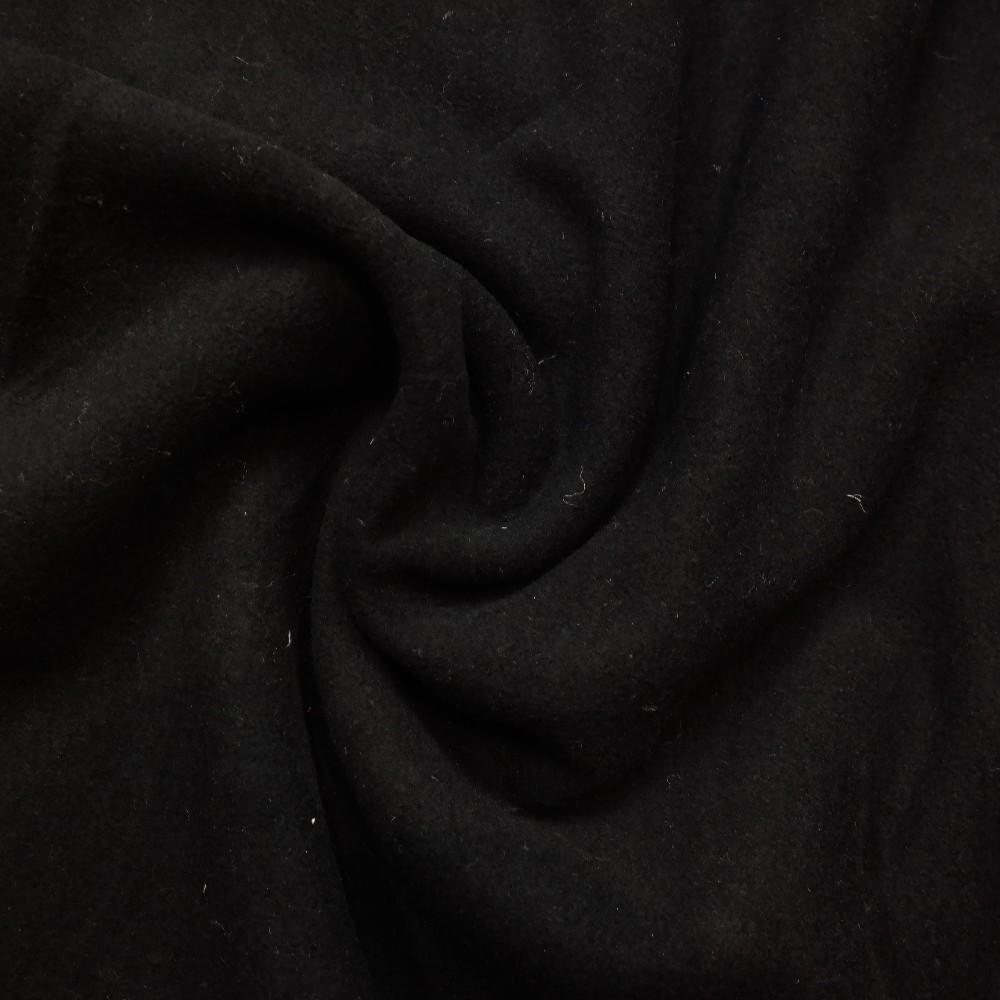 kabátovina černá