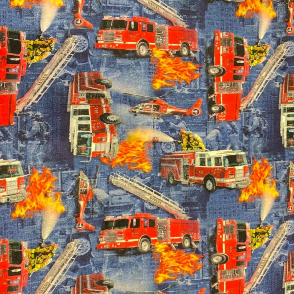 teplákovina hasiči