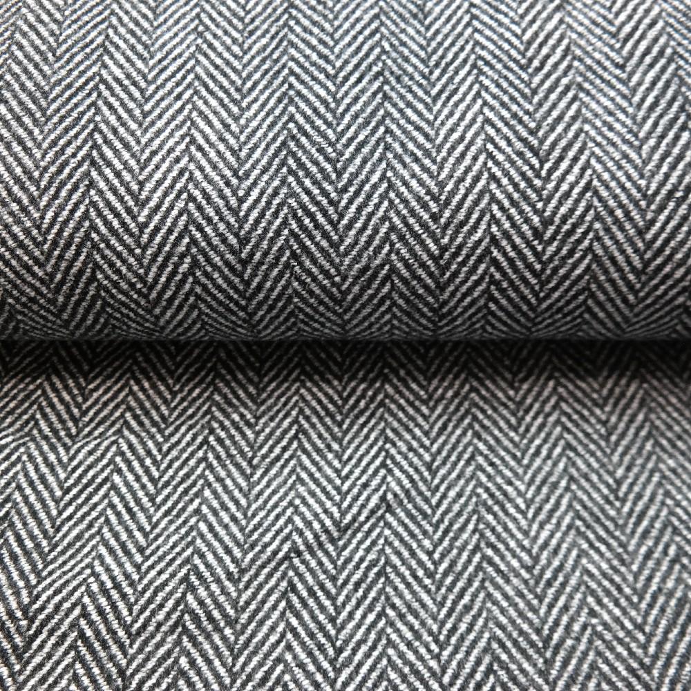 kabátovina bíločerná,stromeček-čárky