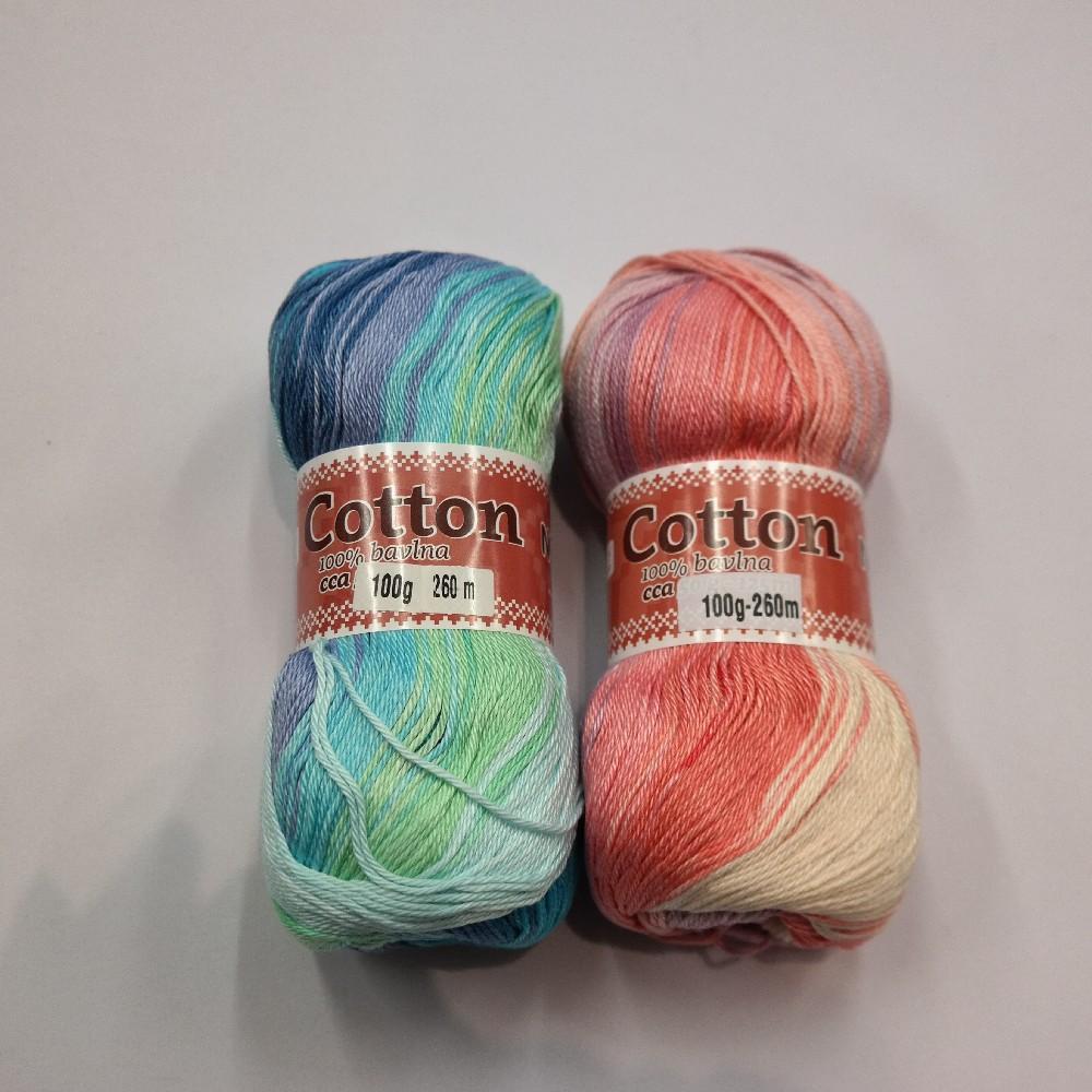 příze Cotton batik