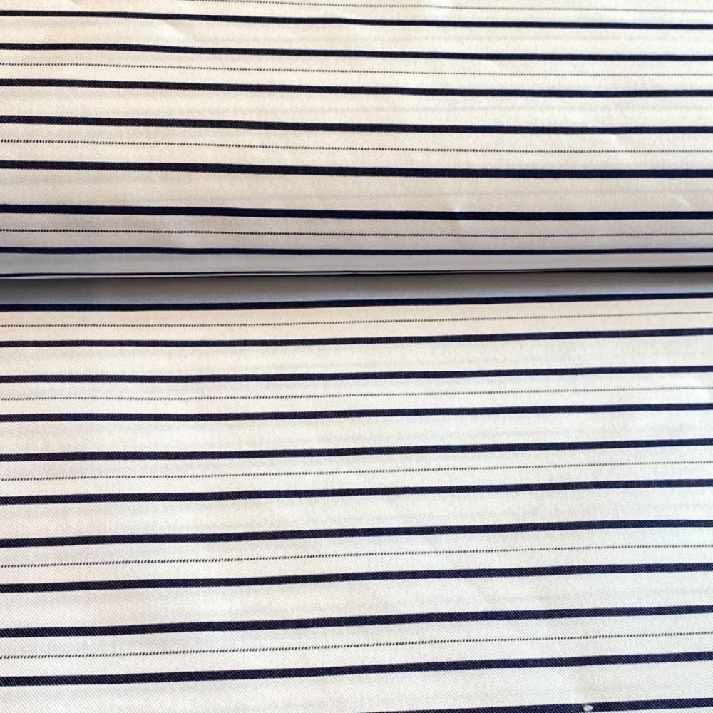 košilovina bavlna elastan