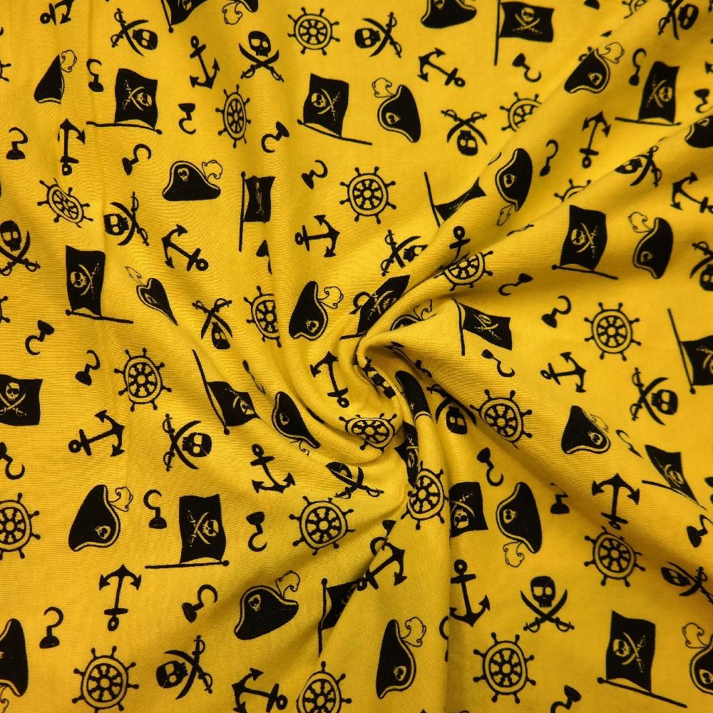 úplet žlutý,piráti