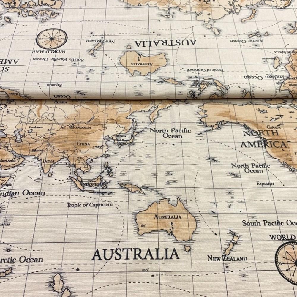 bavlna panely 30cm světadíl 145cm