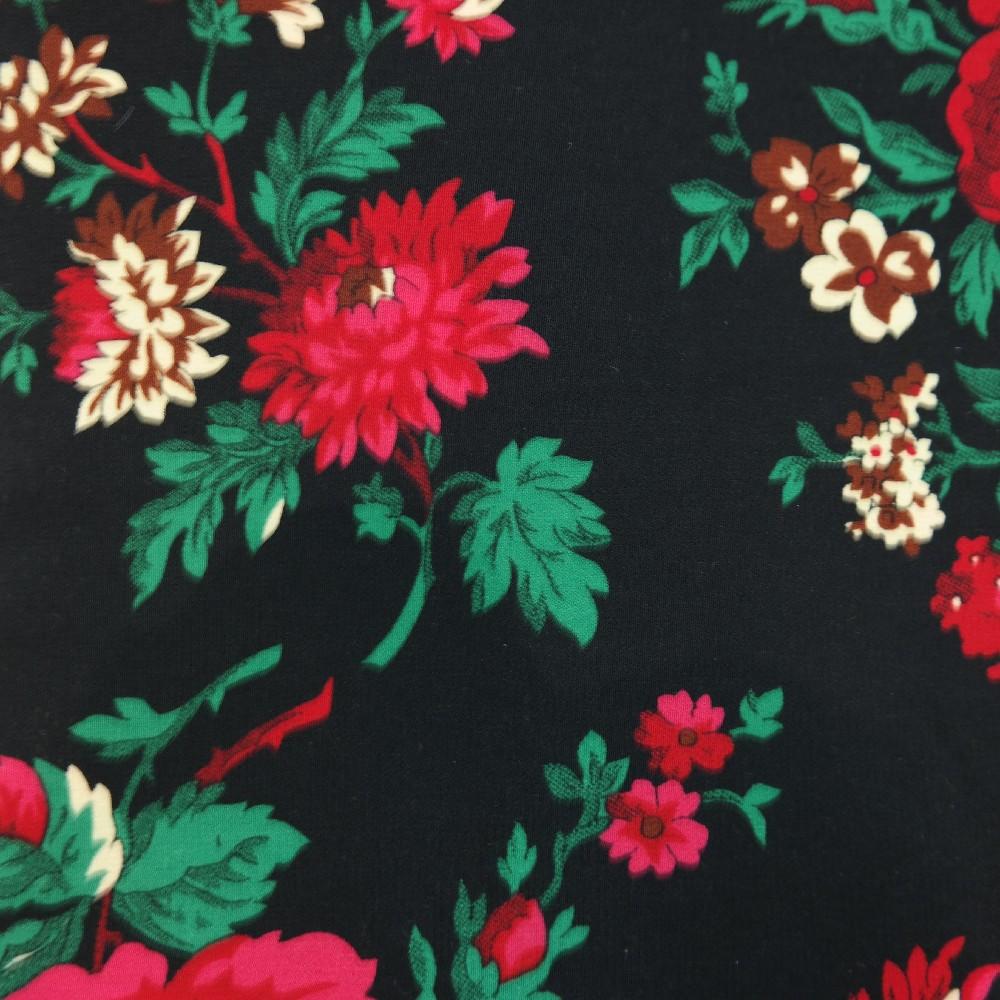 šatovka černá,červené kytice,PES