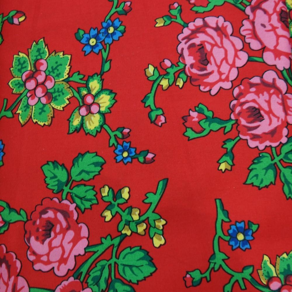 šatovka červená,růžové květy,Ba/satén