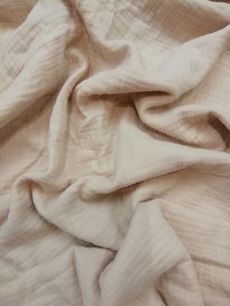 bavlna crash pudrová
