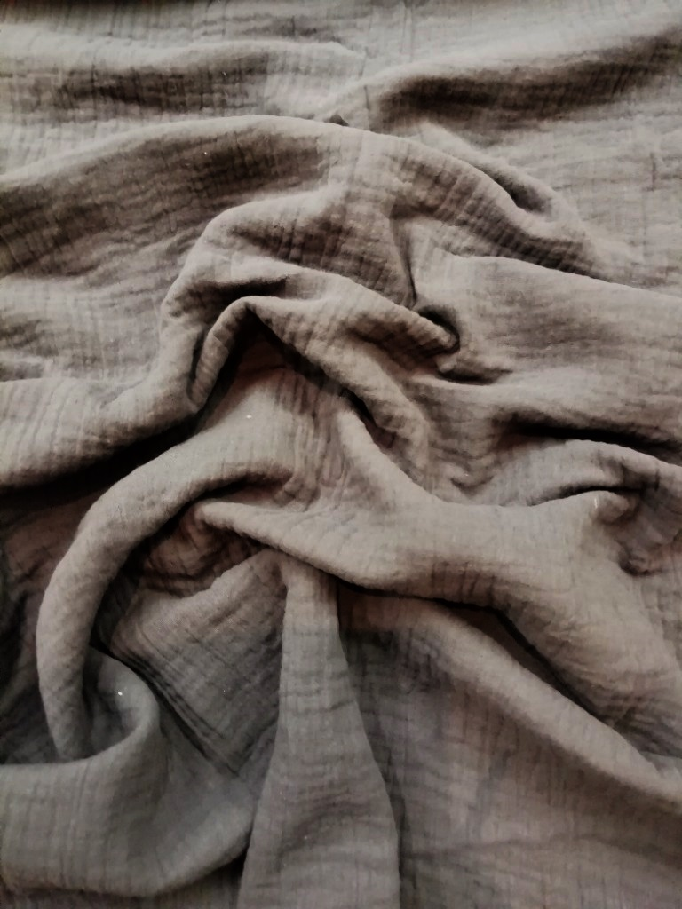 bavlna crash šedá