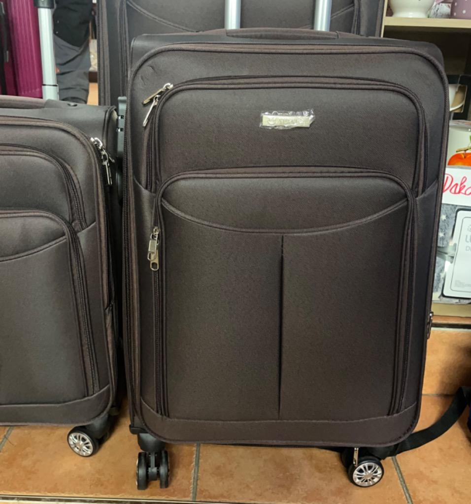 kufr střední látkový